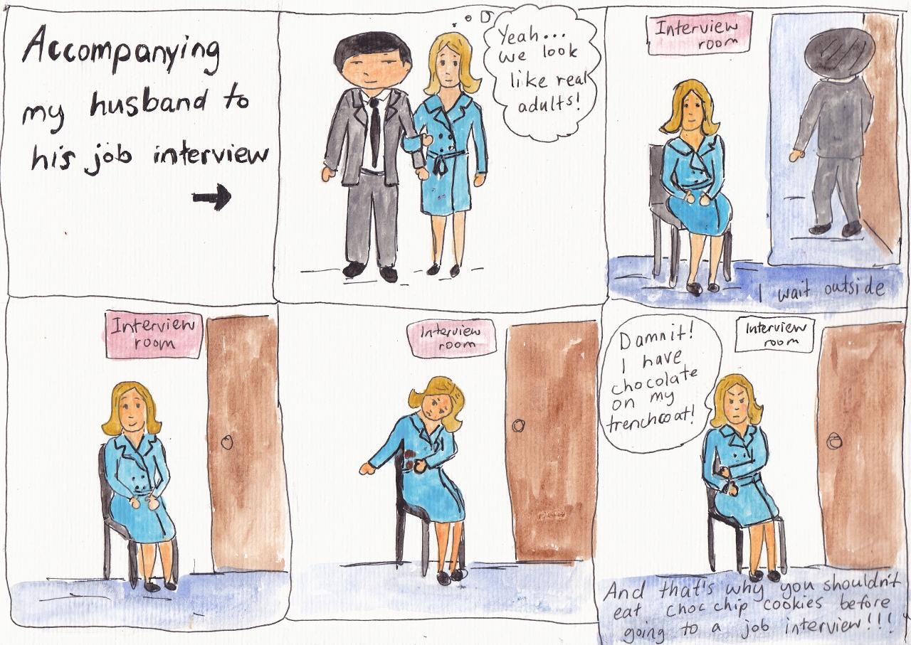 job interview my korean husband