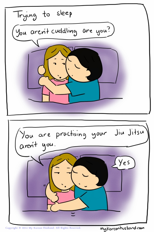 Not Cuddling
