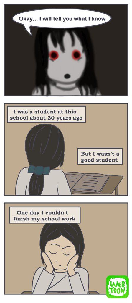 Nicholalala school ghost