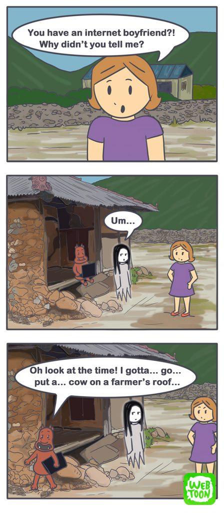 Nicholalala webtoon worry